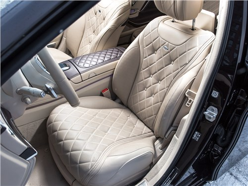 Предпросмотр mercedes-maybach s 450 4matic 2018 передние кресла