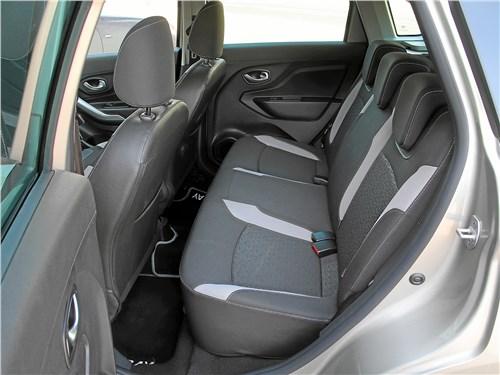 Lada XRay 2018 задний диван