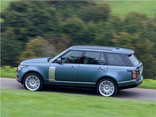 Вот уже почти полвека Range Rover – флагман бренда