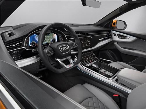 Audi Q8 - Audi Q8 2019 салон