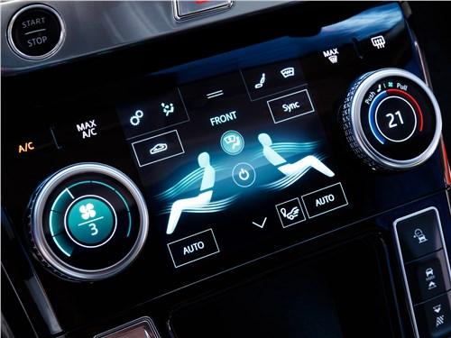 Jaguar I-Pace 2019 управление климатом