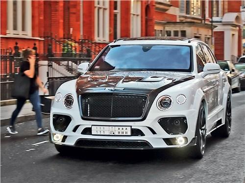 Mansory | Bentley Bentayga вид спереди