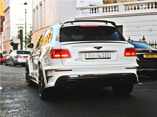 Mansory | Bentley Bentayga вид сзади