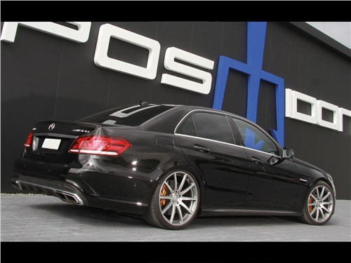 Posaidon | Mercedes-Benz E 63 AMG вид сзади