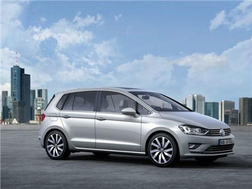 Новость про Volkswagen Golf Sportsvan - Volkswagen тестирует новый полуторалитровый двигатель