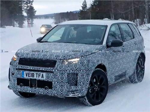 Land Rover вывел на тесты обновленный Discovery Sport