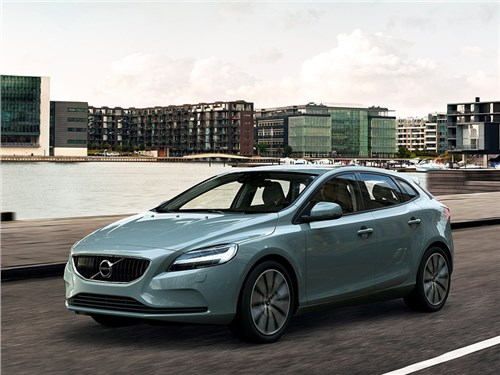 Новость про Volvo V40 - Volvo V40 2017