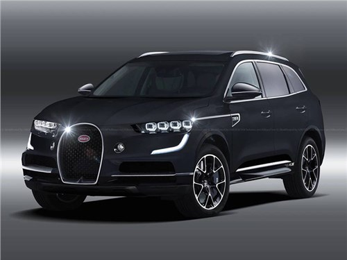 Bugatti обойдется без кроссоверов