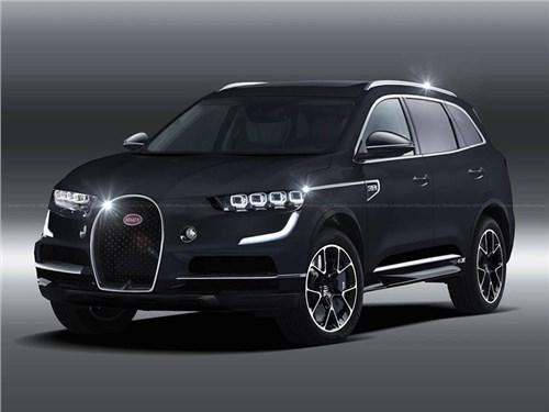 Новость про Bugatti - Bugatti обойдется без кроссоверов