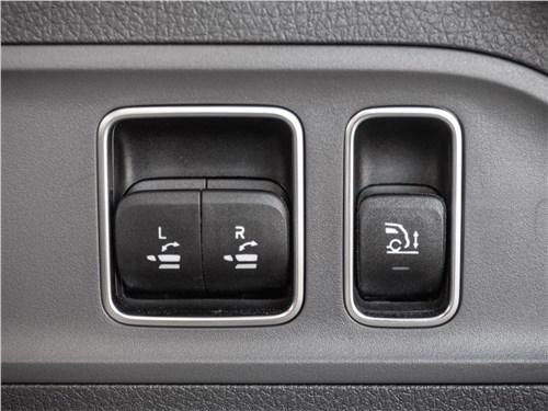 Mercedes-Benz GLE 2020 кнопки