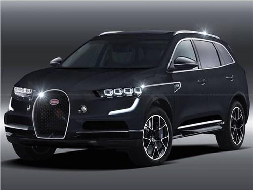 В Bugatti рассказали, чем их кроссовер будет отличаться от других