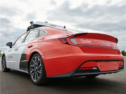 «Яндекс» превратил Hyundai Sonata в беспилотник