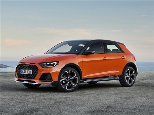 Audi A1 стал кроссовером