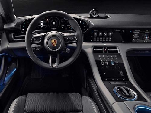 Porsche Taycan «вскрылся»