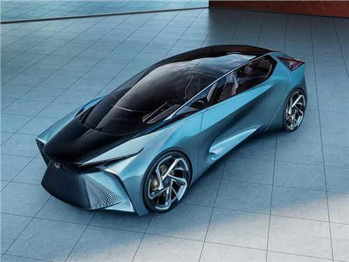 Новость про Lexus - Lexus LF-30 Electrified Concept 2019