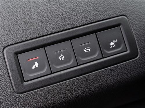 Renault Arkana 2020 клавиши