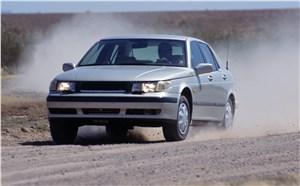 Предпросмотр saab 9-5 2001 седан тест на грунтовой дороге