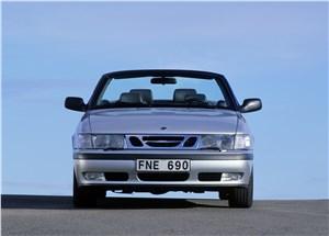 Предпросмотр saab 9-3 2001 кабриолет вид спереди