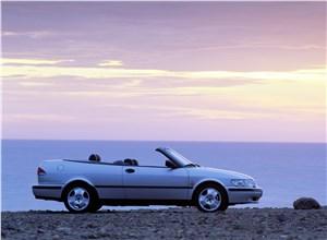 Предпросмотр saab 9-3 2001 кабриолет вид слева
