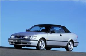 Предпросмотр saab 9-3 2001 кабриолет вид спереди слева с закрытой крышей