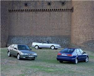 Предпросмотр saab 9-3 2001 трехдверный хэтчбек, кабриолет и пятидверный хэтчбек