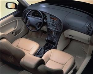 Предпросмотр saab 9-3 2001 кабриолет вид сверху на рабочее место водителя