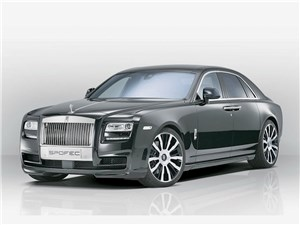 Novitec / Rolls-Royce Ghost вид спереди