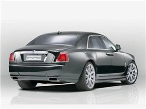 Novitec / Rolls-Royce Ghost вид сзади
