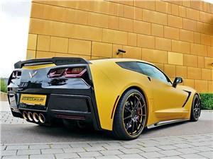 Geiger Cars / Chevrolet Corvette вид сзади