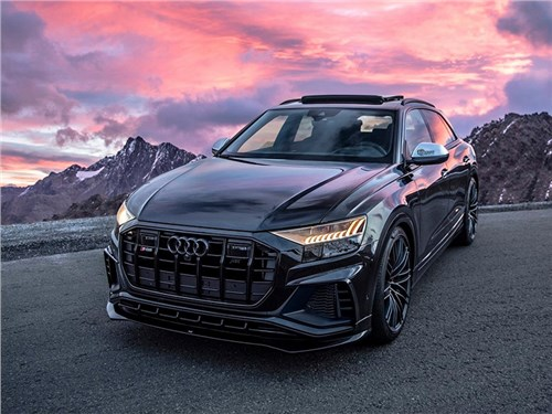 Audi SQ8 прошла через тюнинг и стала очень резвой