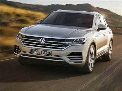 VW Touareg в России получил новый мотор