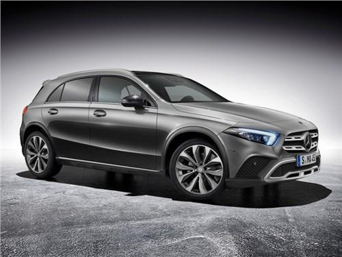Новый Mercedes-Benz GLA: подробности