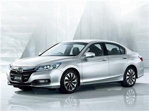 Компания Honda представляет новый седан Accord с гибридной силовой установкой