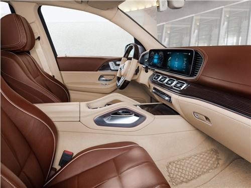Предпросмотр mercedes-benz gls 600 maybach 2021 передние кресла