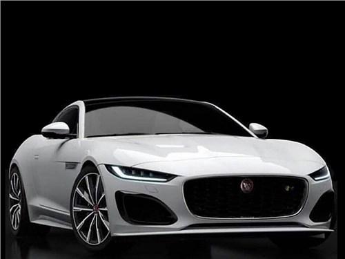 Внешность обновленного Jaguar F-Type раскрыли перед премьерой