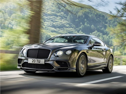 Новость про Bentley - Bentley Continental Supersports 2018