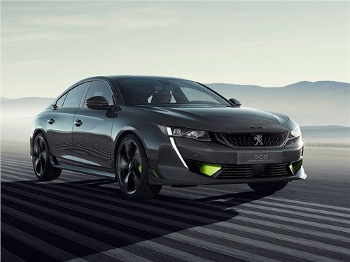 Новость про Peugeot 508 - Peugeot 508 Sport Engineered Concept 2019