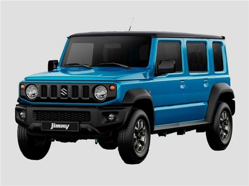 Suzuki Jimny сделают пятидверным, но только в Индии
