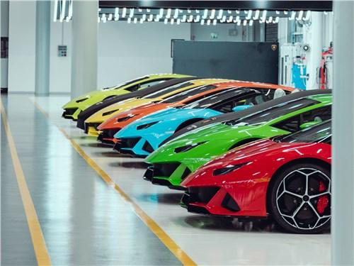 Программа персонализации предполагает множество вариантов окраски кузова