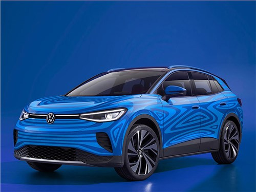 Volkswagen раскрыл подробности о модели ID.4