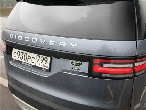 Предпросмотр land rover discovery 2017 вид сзади