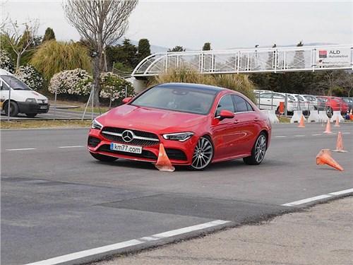 Новый Mercedes-Benz CLA провалил «лосиный тест»