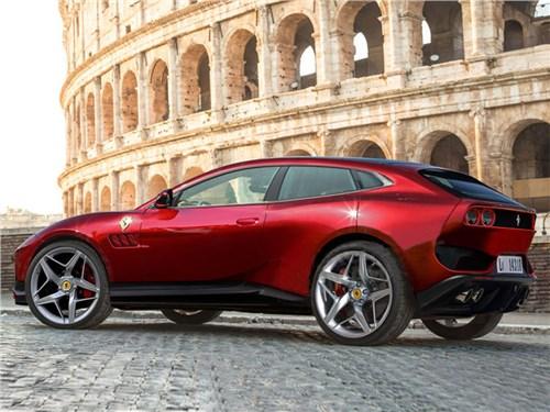 Новость про Ferrari - Первый кроссовер Ferrari: подробности