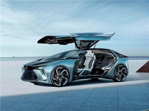 Lexus представляет электромобиль будущего