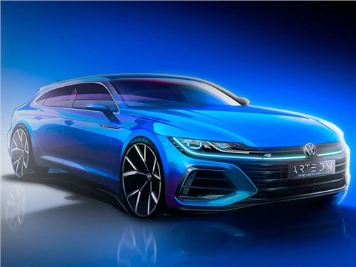 Volkswagen раскрыл внешность и название универсала Arteon