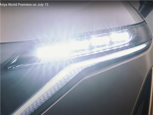 Nissan показал на видео дизайн нового кроссовера