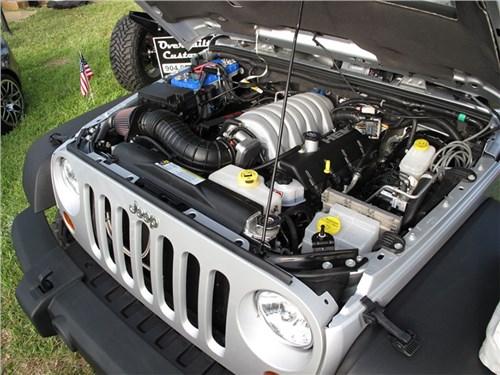 Jeep Wrangler получит версию Hemi