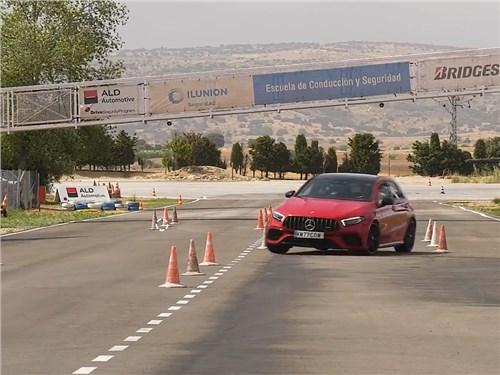 Mercedes-AMG A 45 S провалил «лосиный тест»