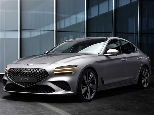Новость про Hyundai Genesis G70 - Genesis G70 (2021)