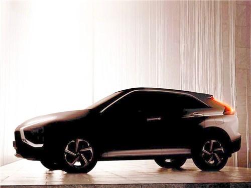 Новость про Mitsubishi Eclipse Cross - Mitsubishi намекнула на скорое обновление кроссовера Eclipse Cross